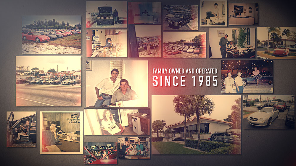Collage of the history images of the CAS, a family owned and operated company since 1985
